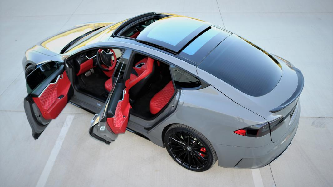 Projekt Tesla Model S Zero to 60 Designs Tuning nardograu 5 Zero to 60 Designs   Projekt Tesla Model S zur SEMA 2017
