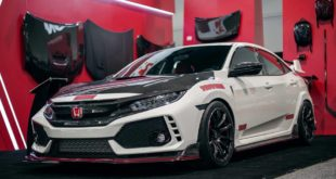 Seibon Carbon Parts Honda Civic Type R FK8 Tuning 4 310x165 From Hell   Mugen RC20GT Civic Art R Konzept 2018