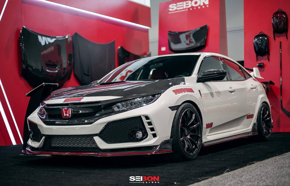 seibon carbon parts honda civic type r fk8 tuning 4. Black Bedroom Furniture Sets. Home Design Ideas