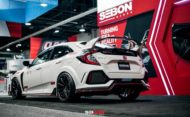 Seibon Carbon Parts Honda Civic Type R FK8 Tuning 5 190x117 Dezent   Seibon Carbon Parts am neuen Honda Civic Type R