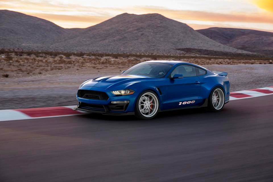 Shelby American Ford Mustang 1000 Tuning 1 Wow   Shelby American pusht den Mustang auf 1.000 PS