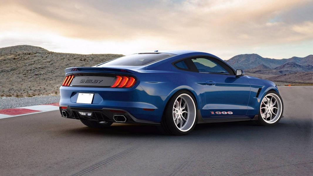 Shelby American Ford Mustang 1000 Tuning 2 Wow   Shelby American pusht den Mustang auf 1.000 PS