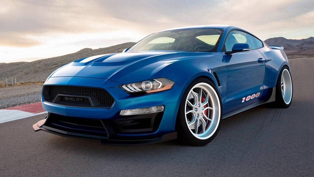 Shelby American Ford Mustang 1000 Tuning 3 Wow   Shelby American pusht den Mustang auf 1.000 PS