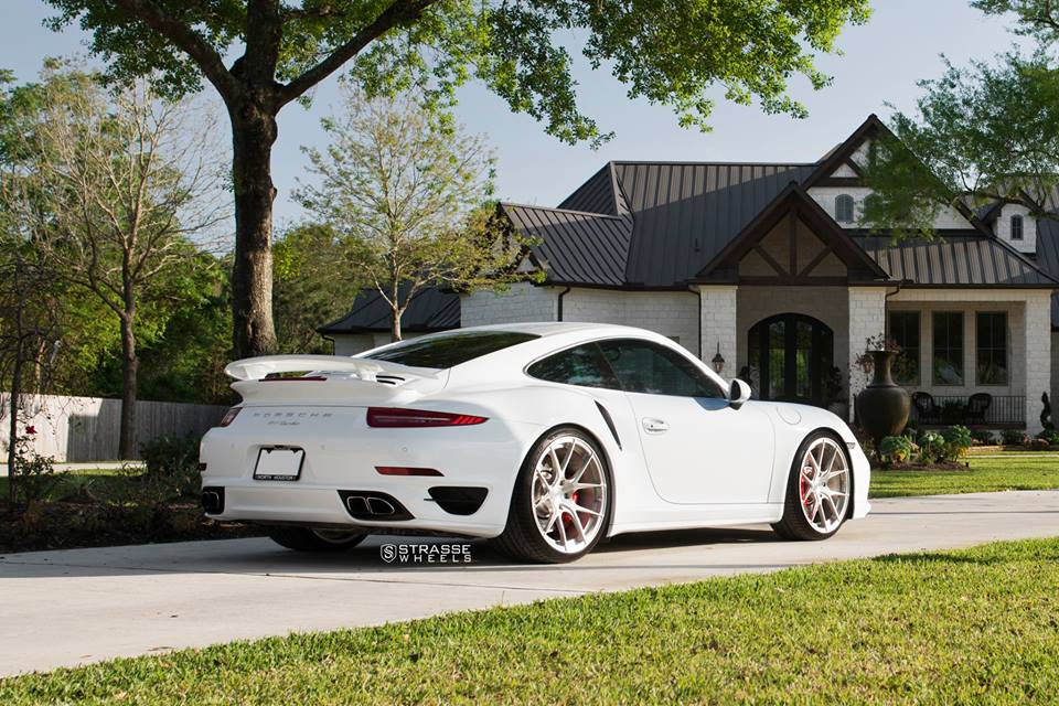 Strasse Wheels SM5R Felgen Porsche 911 Turbo 1003 Tuning Strasse Wheels SM5R Felgen am Porsche 911 Turbo (991)