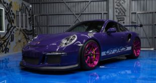 Ultravioleter Porsche 911 GT3 RS ADV5.2 M.V2 Tuning Felgen 1 310x165 Perfektion   ADV.1 Wheels am Bentley Continental GT3 R