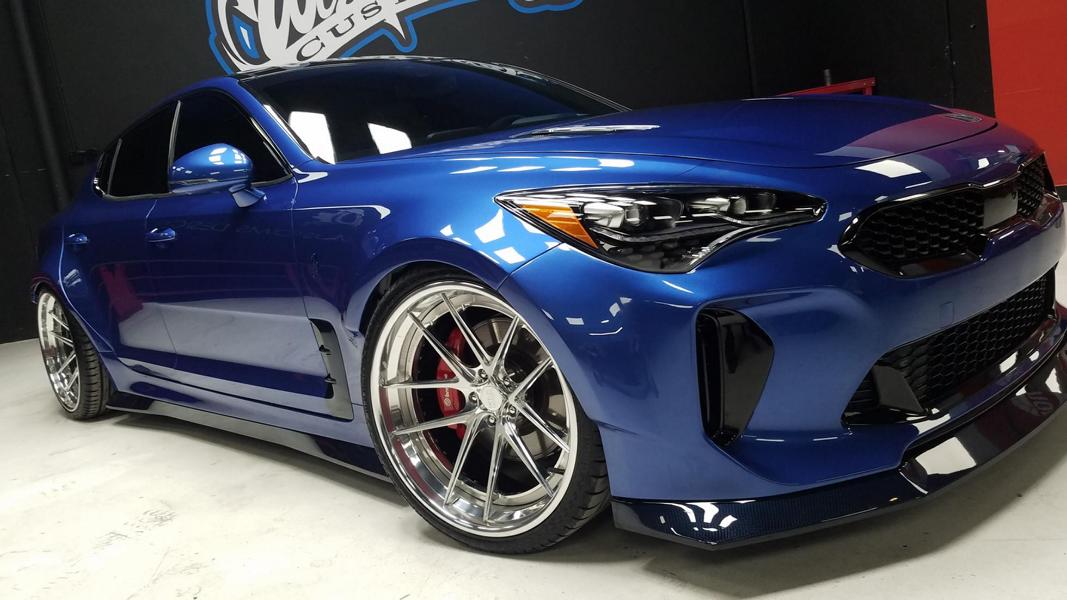 West Coast Customs Widebody Kia Stinger 2017 SEMA Tuning 4 West Coast Customs   Widebody Kia Stinger zur SEMA