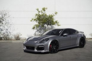 Widebody Porsche Panamera Techart Tuning Forgiato Wheels 1 310x205 Perfekt   Widebody Porsche Panamera auf 22 Zoll Felgen