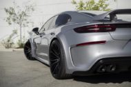 Widebody Porsche Panamera Techart Tuning Forgiato Wheels 7 190x127 Perfekt   Widebody Porsche Panamera auf 22 Zoll Felgen