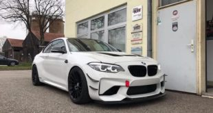 2 310x165 Video: BMW M2 F87 Coupe mit 530 PS von Evolve Automotive