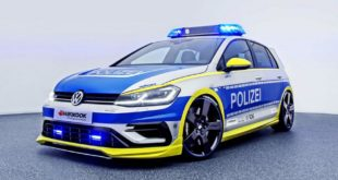 400 PS OETTINGER VW Golf 400R Polizeiauto Tuning 2017 3 310x165 RETTmobil 2018   Polizei Design am MINI John Cooper Works F56