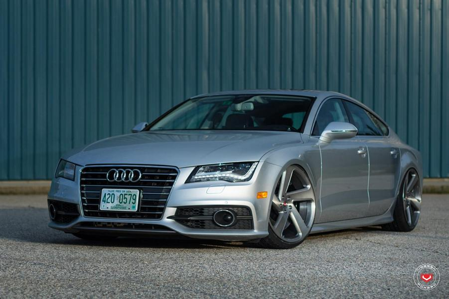 Audi A7 Sportback Vossen CG 210T Tuning 21 Wow   Audi A7 Sportback auf Vossen CG 210T Felgen
