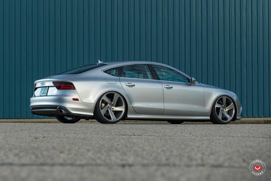 Audi A7 Sportback Vossen CG 210T Tuning 40 Wow   Audi A7 Sportback auf Vossen CG 210T Felgen