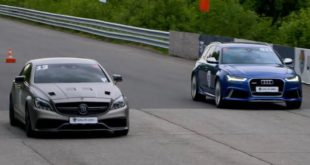 Audi RS6 vs. 1200PS Mercedes AMG CLS 310x165 Video: Dragrace   750PS Audi RS6 vs. 1,200PS Mercedes AMG CLS