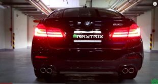 BMW 530i G30 Armytrix Exhaust Sportauspuff 310x165 Video: Neuer BMW 530i G30 mit Armytrix Exhaust Sportauspuff
