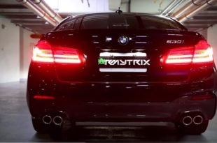 BMW 530i G30 Armytrix Exhaust Sportauspuff 310x205 Video: Neuer BMW 530i G30 mit Armytrix Exhaust Sportauspuff