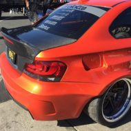 BMW E82 1er 135i Clinched Widebody Kit SevenK Wheels Tuning 15 190x190 BMW E82 1er (135i) mit Clinched Widebody Kit & SevenK Wheels