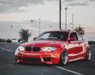 BMW E82 1er 135i Clinched Widebody Kit SevenK Wheels Tuning 16 190x150 BMW E82 1er (135i) mit Clinched Widebody Kit & SevenK Wheels
