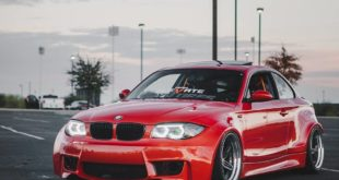 BMW E82 1er 135i Clinched Widebody Kit SevenK Wheels Tuning 16 310x165 BMW E82 1er (135i) mit Clinched Widebody Kit & SevenK Wheels
