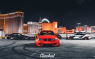 BMW E82 1er 135i Clinched Widebody Kit SevenK Wheels Tuning 17 190x119 BMW E82 1er (135i) mit Clinched Widebody Kit & SevenK Wheels
