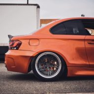 BMW E82 1er 135i Clinched Widebody Kit SevenK Wheels Tuning 3 190x190 BMW E82 1er (135i) mit Clinched Widebody Kit & SevenK Wheels