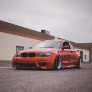 BMW E82 1er 135i Clinched Widebody Kit SevenK Wheels Tuning 4 190x190 BMW E82 1er (135i) mit Clinched Widebody Kit & SevenK Wheels