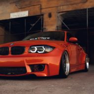 BMW E82 1er 135i Clinched Widebody Kit SevenK Wheels Tuning 6 190x190 BMW E82 1er (135i) mit Clinched Widebody Kit & SevenK Wheels