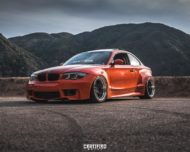 BMW E82 1er 135i Clinched Widebody Kit SevenK Wheels Tuning 7 190x152 BMW E82 1er (135i) mit Clinched Widebody Kit & SevenK Wheels