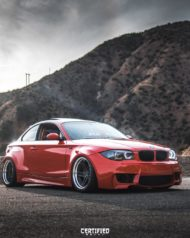 BMW E82 1er 135i Clinched Widebody Kit SevenK Wheels Tuning 9 190x238 BMW E82 1er (135i) mit Clinched Widebody Kit & SevenK Wheels