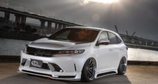 Bodykit Kuhl Racing Toyota Harrier Tuning 2018 1 310x165 Angepasst   Toyota Alphard Facelift mit Kuhl racing Bodykit
