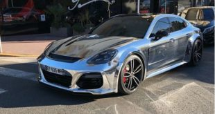 Chrome Widebody Porsche Panamera Techart Turbo 2019 310x165 Video: Chrome Widebody Porsche Panamera Turbo (2018)