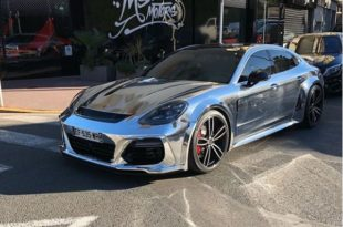 Chrome Widebody Porsche Panamera Techart Turbo 2019 310x205 Video: Chrome Widebody Porsche Panamera Turbo (2018)
