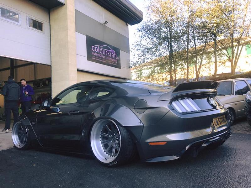 One More Ford Mustang Gt With Liberty Walk Widebody Kit