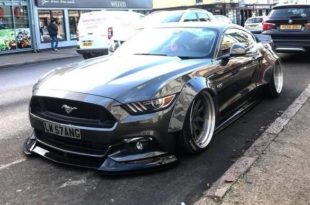 Ford Mustang GT Liberty Walk Widebody Airride Tuning 6 1 310x205 Noch einer   Ford Mustang GT mit Liberty Walk Widebody Kit