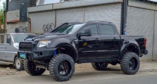 Ford Ranger 35 Zoll Offroad Reifen Tuning 4 310x165 Blaues Monster   Widebody Jeep Wrangler by Autobot