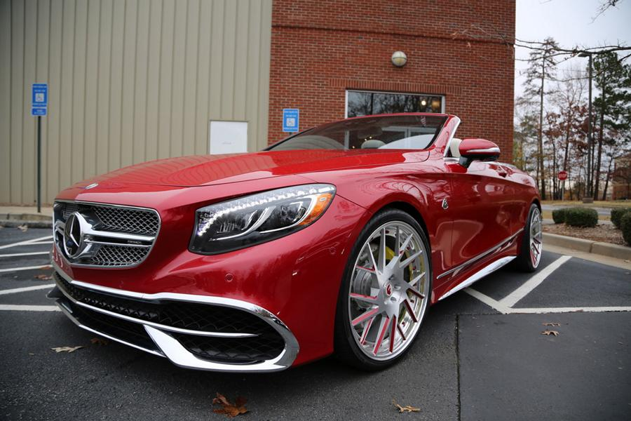 Forgiato Wheels Maybach S650 AMG Cabrio 8 Exclusive   Mercedes Maybach S650 Cabrio auf Forgiato's