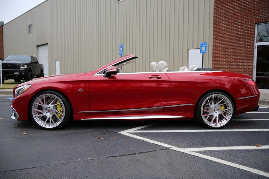Forgiato Wheels Maybach S650 AMG Cabrio 9 Exclusive   Mercedes Maybach S650 Cabrio auf Forgiato's