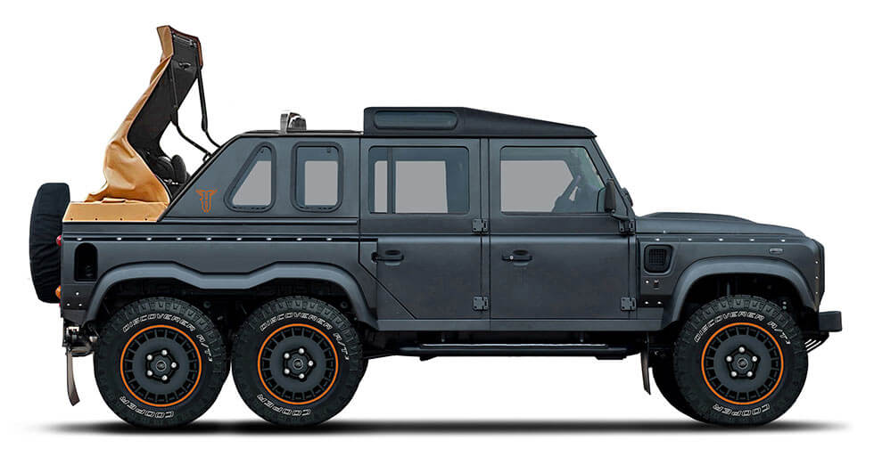 Kahn Design Flying Huntsman 6x6 Soft Top Luftiges Monster   Kahn Design Flying Huntsman 6x6 Soft Top