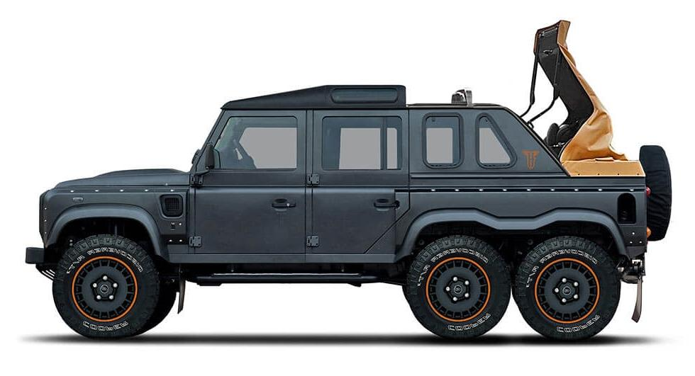 Kahn Design Flying Huntsman 6x6 Soft Top2 Luftiges Monster   Kahn Design Flying Huntsman 6x6 Soft Top
