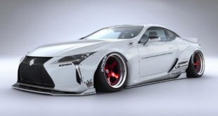 Liberty Walk Lexus LC500 Widebody Tuning 4 310x165 Darth Vader fährt einen Widebody Lamborghini Aventador