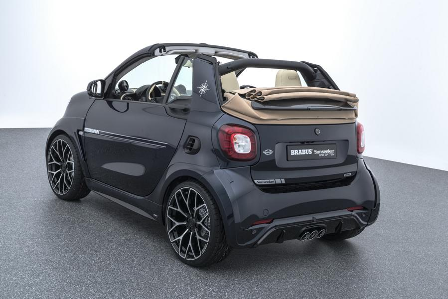 """Limited Edition %E2%80%9EONE OF TEN%E2%80%9C Brabus Smart 2017 Tuning 10 BRABUS ULTIMATE Sunseeker Limited Edition """"ONE OF TEN"""""""