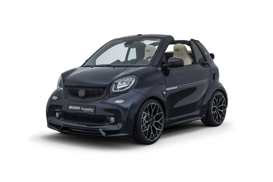 """Limited Edition %E2%80%9EONE OF TEN%E2%80%9C Brabus Smart 2017 Tuning 5 BRABUS ULTIMATE Sunseeker Limited Edition """"ONE OF TEN"""""""