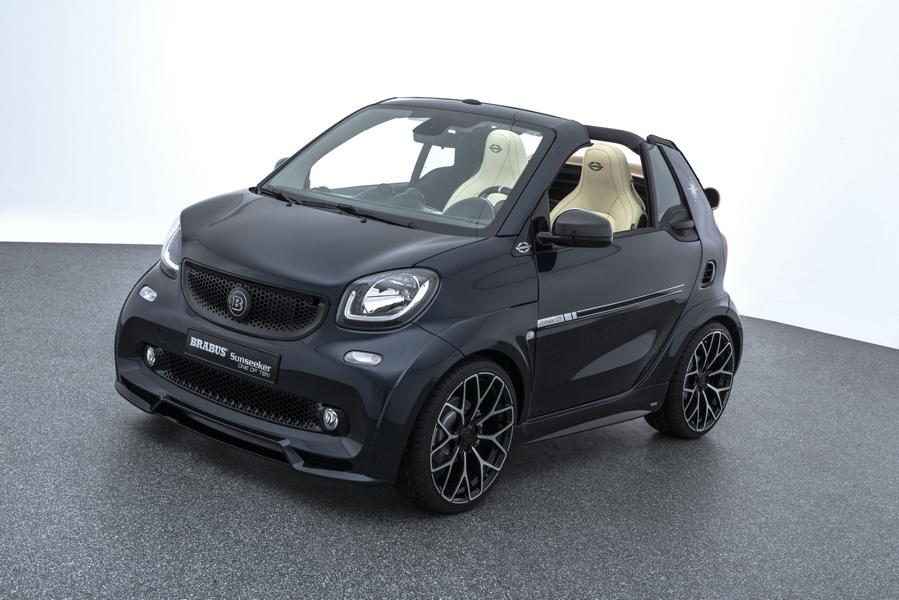 """Limited Edition %E2%80%9EONE OF TEN%E2%80%9C Brabus Smart 2017 Tuning 9 BRABUS ULTIMATE Sunseeker Limited Edition """"ONE OF TEN"""""""