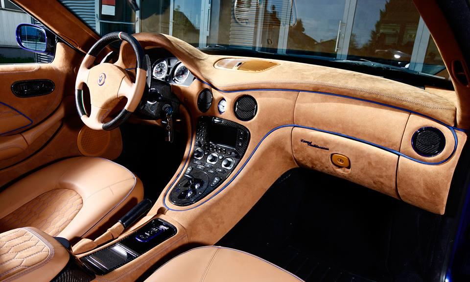Maserati 4200 EVO Interieur LEDER Art Tuning 6 Tuning im Interieur   welche Veredelungsmöglichkeiten gibt es?