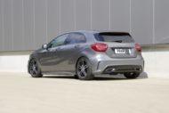Mercedes A Klasse W176 HR Sportfedern Tuning 1 190x127 Mercedes A Klasse Facelift (W176) mit H&R Sportfedern