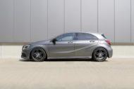 Mercedes A Klasse W176 HR Sportfedern Tuning 3 190x127 Mercedes A Klasse Facelift (W176) mit H&R Sportfedern
