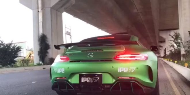 Video: Soundcheck – Mercedes-AMG GT R mit IPE Auspuff