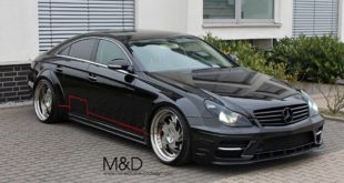 PD Black Edition Widebodykit Kleemann CLS Mercedes Tuning 4 310x165 Dezent: Mercedes GLE63 AMG auf Z Performance Felgen