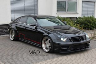 PD Black Edition Widebodykit Kleemann CLS Mercedes Tuning 4 310x205 Böse   PD Black Edition Widebodykit am Kleemann CLS