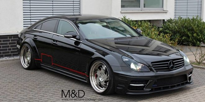 b se pd black edition widebodykit am kleemann cls. Black Bedroom Furniture Sets. Home Design Ideas