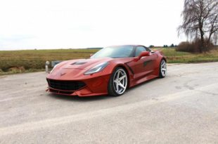 Power Parts Widebody Chevrolet Corvette C7 Tuning 11 310x205 Power Parts Widebody Chevrolet Corvette C7   20cm mehr